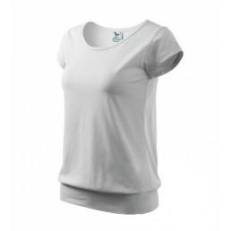 Dámské tričko s dolním lemem - velmi krátký rukáv